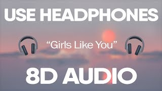 Maroon 5 Cardi B Girls Like You 8d Audio