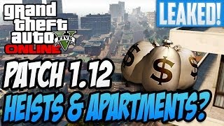 "GTA 5 Online Heist - 1.12 Patch Update to Include Heists + Apartments! ""GTA 5 Online Heist"""