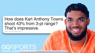 Karl Anthony Towns Goes Undercover on YouTube, Reddit and Twitter | Actually Me | GQ Sports