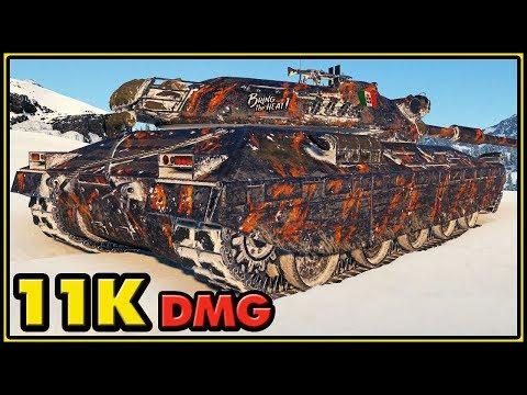 Progetto M40 mod. 65 - 11K Damage - World of Tanks Gameplay