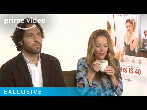 Paul Rudd, Judd Apatow, Leslie Mann - This Is 40 Interview