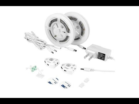 Amagle Adjustable Motion Activated LED Light Strips Unboxing & Review
