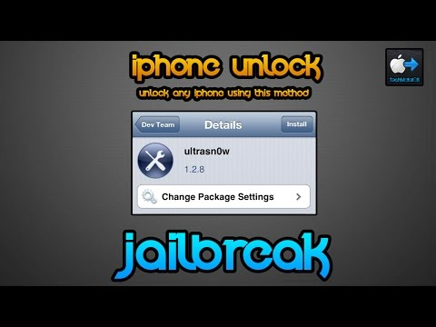 How to unlock iPhone 1G. 2G. 3G. 3GS. 4 iOS 6.1.3 for free using UltraSn0w!