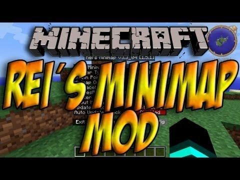 Minecraft 1.5.1 - Como Instalar REI´S MINIMAP MOD - ESPAÑOL [HD] 1080p