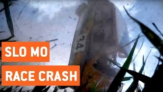 Rally Car Dashcam Rollover | Podbrdská Rally Legend 2016