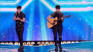 The X Factor UK 2017 Sean & Conor Price Six Chair Challenge Full Clip S14E13