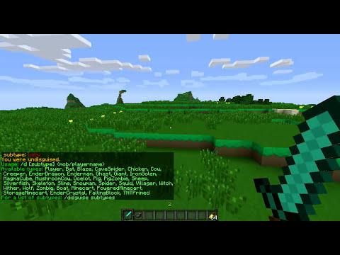 Minecraft Disguise-Craft Plugin Showcase  [1.4]