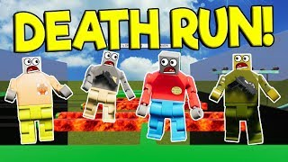 LEGO GMOD DEATH RUN CHALLENGE! - Brick Rigs Multiplayer Gameplay - Lego Obstacle Course Survival
