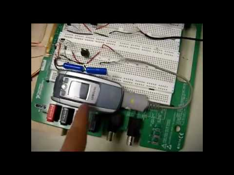Wireless Energy Transfer (WET) Mobile Phone Prototype