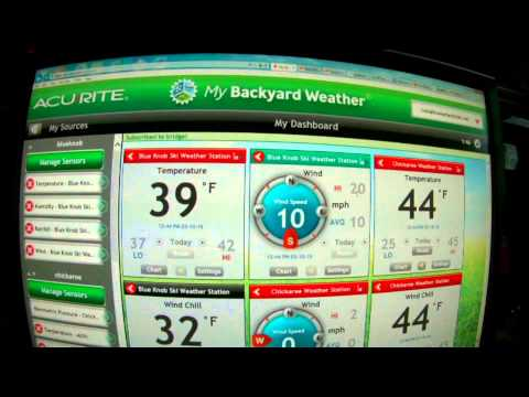 acu-rite 5 in 1  weather station