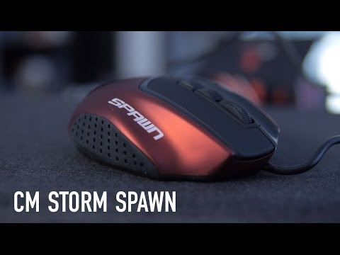 CM Storm Spawn - Claw Grip Gaming Mouse Overview