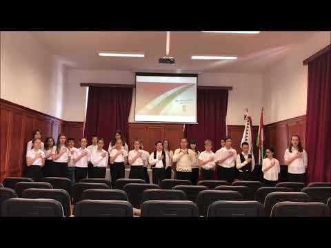 Református Általános Iskola Balatonfüred- a 6.osztály március 15-i műsora
