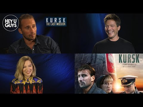 Matthias Schoenaerts, Léa Seydoux & Thomas Vinterberg On Kursk The Last Mission