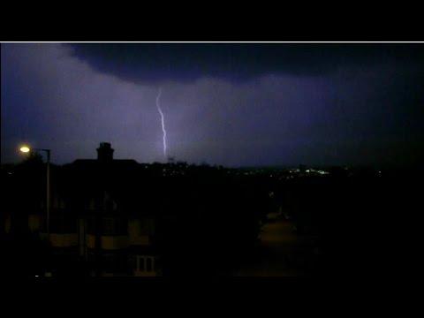 Severe Thunderstorm England July 18, 2014