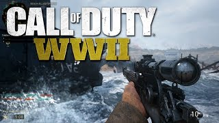Call of Duty WW2 - War Mode Gameplay (PS4 PRO 1080p 60 fps)