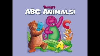Barney's ABC Animals [Read Along] [Cassette]
