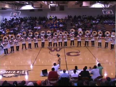 The all-star tuba section from Virginia State University known as Horsepower performed at the 2010 Warren County Battle of the Bands in a exhibition. The fan...