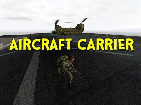 AIRCRAFT CARRIER! - Arma 2: DayZ Mod - Ep.32