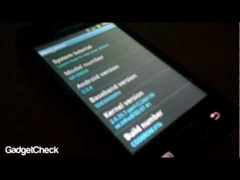 Samsung Galaxy Ace Running FirstUA-ROM v1.0 Gingerbread XXKPH 2.3.4 And Flashing Guide & Tutorial
