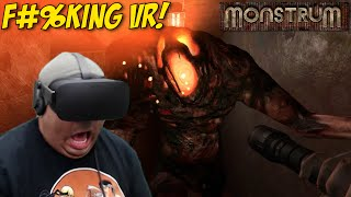THIS SH#T SCARY AS F#%K IN VR!! [MONSTRUM] [OCULUS RIFT]