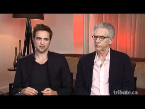 Robert Pattinson & David Cronenberg - Cosmopolis Interview with Tribute.ca