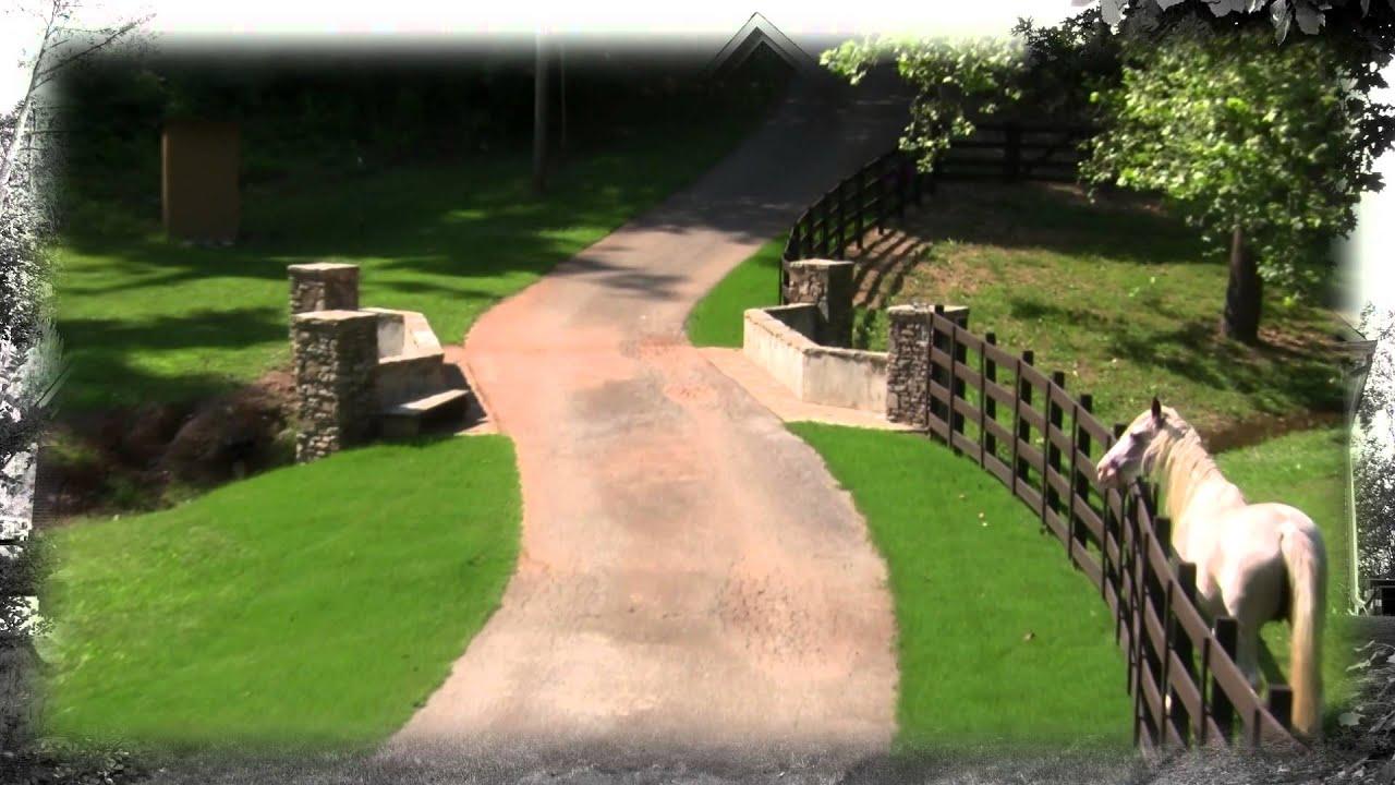 Equestrian Mini Farm Horse Barn Pond Springville Al Youtube