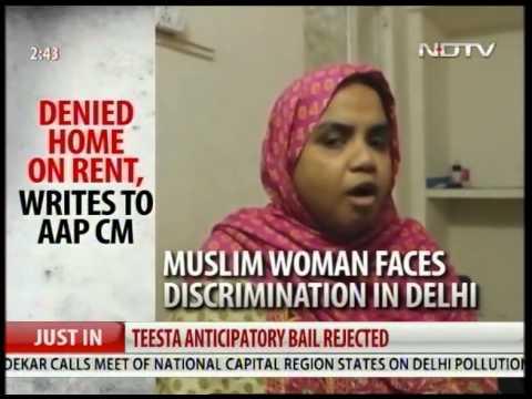 Muslim woman denied home in Delhi