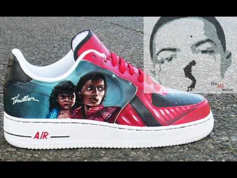 Michael Jackson Thriller Sneakers