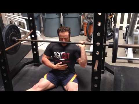 Kalle Beck Strongman Shoulder Workout Image 1