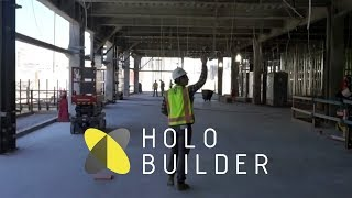 Documenting construction sites with HoloBuilder