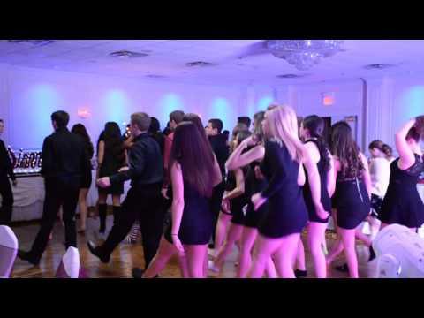 Sweet Sixteen Cupid Shuffle & Wobble Dance