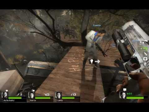 Left 4 Dead 2 Custom Map Review - 2 Evil Eyes 1 of 4 - Kilplix N Friends