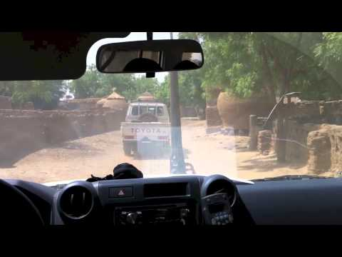 Traveling across Niger to the Village of Guidan Gado