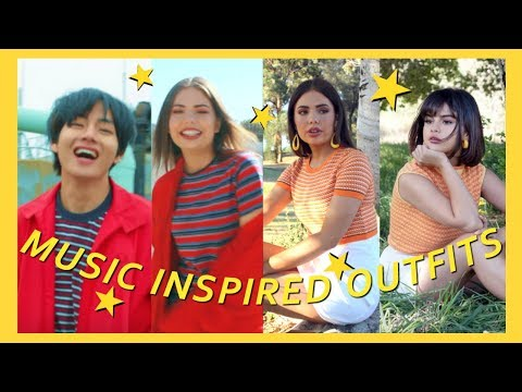 Music Video Inspired Outfits! *BTS, Selena Gomez & More* thumbnail