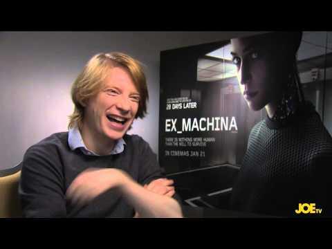 JOE meets Domhnall Gleeson to talk Ex-Machina and Star Wars