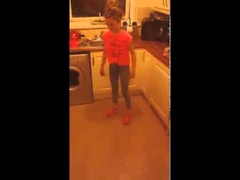 Dancing girl from Belfast