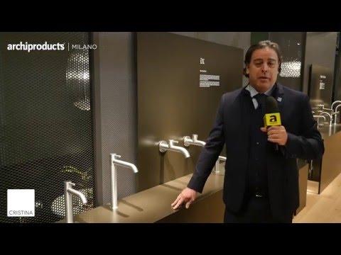Salone del Mobile.Milano 2016 | CRISTINA RUBINETTERIE - Fabio Brignone