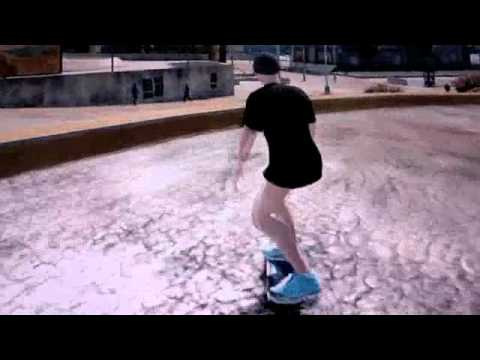 Skate Montage Nude Men video