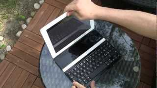 Das Logitech Ultrathin Keyboard Cover fürs iPad (+ Video)