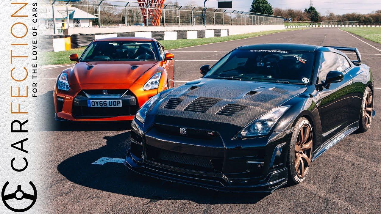 Nissasn GTR Stock v Modified YT