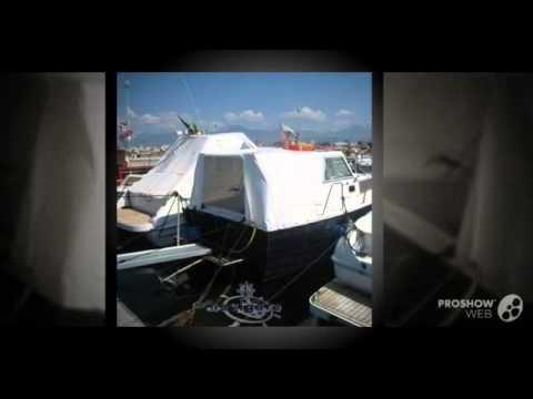 Boats company pilotina power boat, pilothouse boat year - 1978