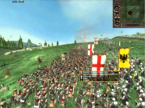 Stainless Steel Battle Report 1: Republic of Genoa vs Holy Roman Empire Part 1/2