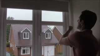 FITTING A BLACKOUT ROLLER BLIND - YouTube - recess fit roller blind