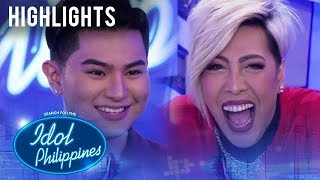 Vice, labis na natuwa sa kwento ni Gello | Idol Philippines 2019 Auditions