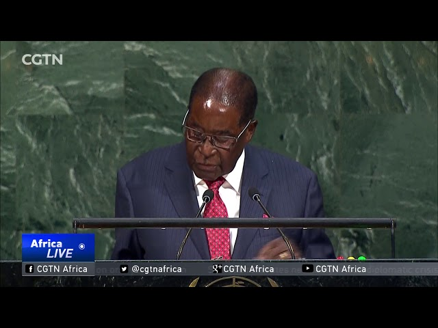 President Mugabe scolds U.S. President for 'frightening' remarks
