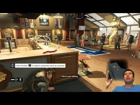 Watch Dogs - Spying on ELITES in Skybox