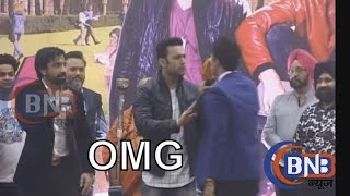 Ajaz Khan And Sahil Anand Fighting Between the Promotion Of Love Day