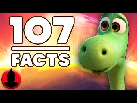 107 Facts About The Good Dinosaur! (ToonedUp #62) @ChannelFred