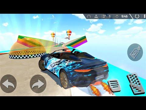 MEGA RAMPEN ! Super Autorennen ! Android Spiele - Gameplay deutsch