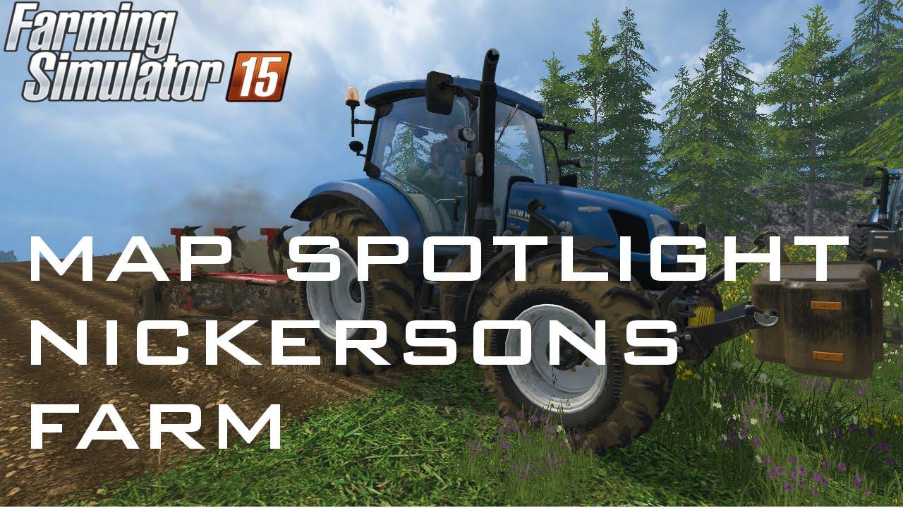 Farming Simulator 15 Farm Farming Simulator 15 Map
